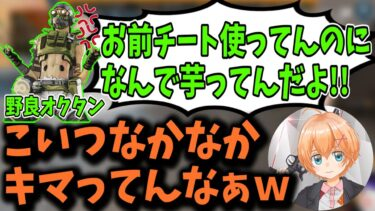 【APEX】絵に描いたような''地雷オクタン''にチーター扱いされる渋谷ハル【渋谷ハル/切り抜き】